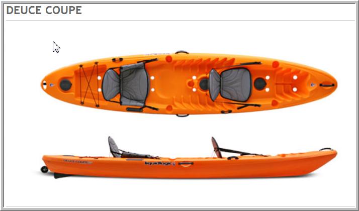 Double Kayak for Bonefishing