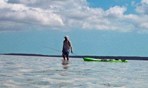 Kayak Fishing Turks and Caicos